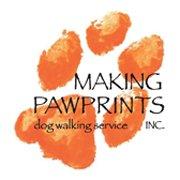 Making Pawprints Dog Walking