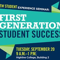 Highline College New Student Experience Seminar