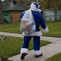Baytown Blue Santa