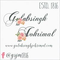 Gulab Singh Johri Mal