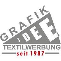 Grafik-Idee Textilwerbung