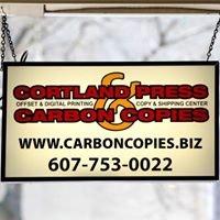 Cortland Press & Carbon Copies