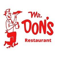 Mr. Don's Restaurant