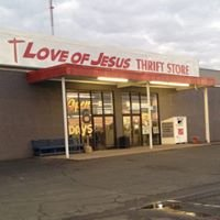 The Love Of Jesus Thrift Store