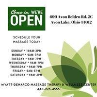 Wyatt-Demarco Massage Therapy & Wellness Center, llc