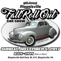 Riegelsville Fall Roll Out Car Show