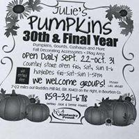 Julie's Pumpkins