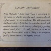 John Michaels Artistic Hair Team