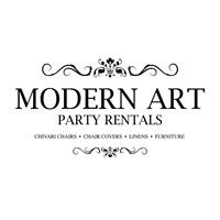 Modern Art Party Rentals