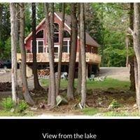 Lake house on Sebec Lake, Maine
