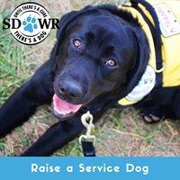 SDWR Volunteers & Service Dog Raisers
