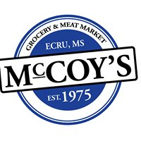 "McCoy's Grocery ""The Real Meat Market"""