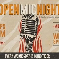 Open Mic at Blind Tiger