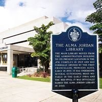The Alma Jordan Library at the UWI St. Augustine