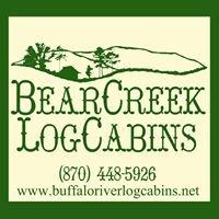 Buffalo River LOG Cabins = Bear Creek Log Cabins