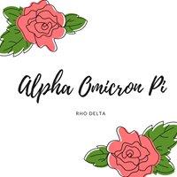 Alpha Omicron Pi Rho Delta