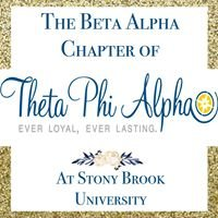 Theta Phi Alpha - Beta Alpha Chapter