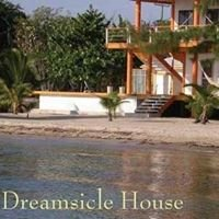 Dreamsicle House on the beach in Maya Beach, Placencia, Belize