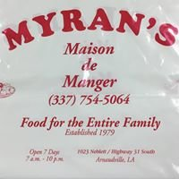 Myran's Maison de Manger