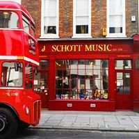 Schott Music London - shop