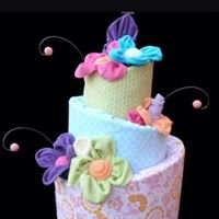 A Heavenly Diaper Cake
