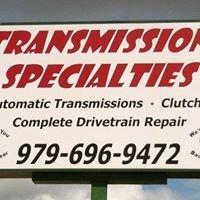 Transmission Specialties LLC
