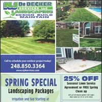 NJDeDecker Services Group. (an outdoor services company)