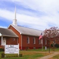 Hurt United Methodist Church, Hurt, VA