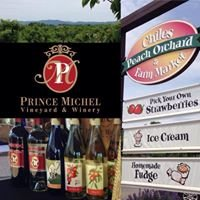 Prince Michel at Chiles Peach Orchard