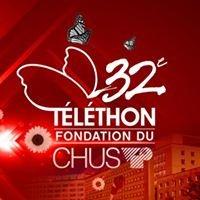 Page officielle du Téléthon annuel de la Fondation du CHUS