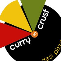 Curry on Crust Desi Pizza