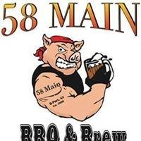 58 Main Restaurant, Bar, & Smokin BBQ