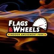 Flags and Wheels Indoor Racing
