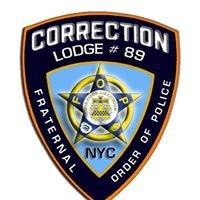 FOP - NYC CORRECTION LODGE 89