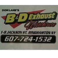 B&D Exhaust Warehouse Inc.