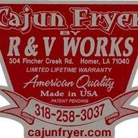 R & V Works Cajun Fryer