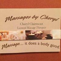 Cheryl Clairmont Massage Therapy