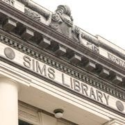 N. P. Sims Library