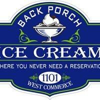 Back Porch Ice Cream