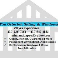 Tim Osterloh Siding & Windows
