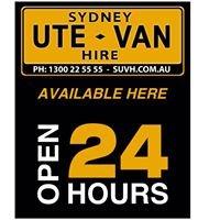 SUVH: Sydney Ute Van Hire