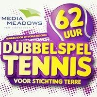 Media Meadows Wereldduurrecord dubbelspel tennis