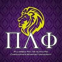 Pi Lambda Phi - Christopher Newport University