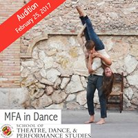 MFA in Dance at the University of Maryland