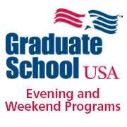 Graduate School USA Evening and Weekend Programs