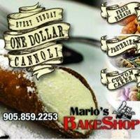 Mario's Bake Shop Nobleton