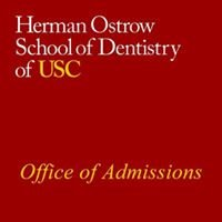USC Ostrow School of Dentistry - Office of Admissions and Student Affairs