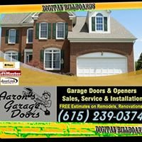 Nashville Garage Doors - Aaron Door Service