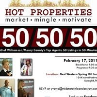 Hot Properties Spring Hill TN
