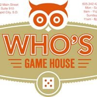 Who's Game House